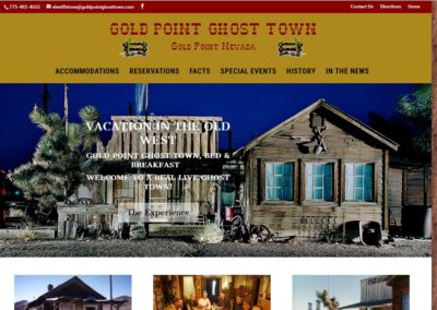Gold Point Ghost Town